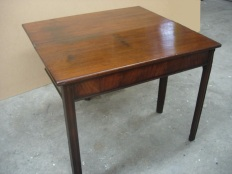 Chippendale tea table 4