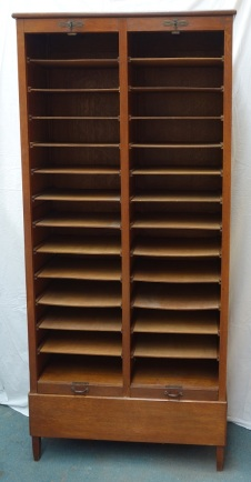 French oak filing cabinet 5