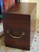Georgian medicine box back and side