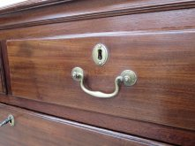 Mid18thc chest handle