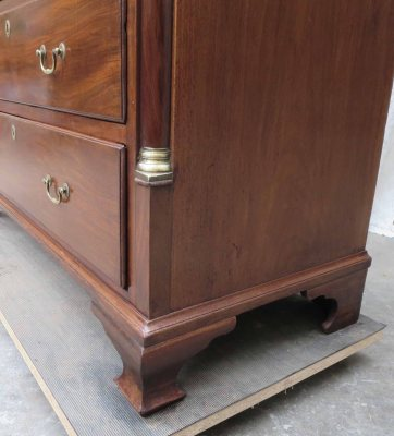 Mid18thc chest lower detail