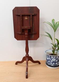 Redgum wine table vert back