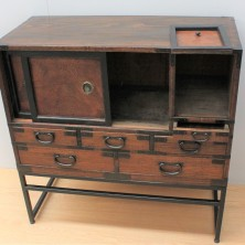 Japanese tea utensil chest 3